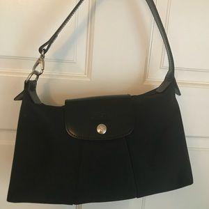 Authentic Longchamp black purse
